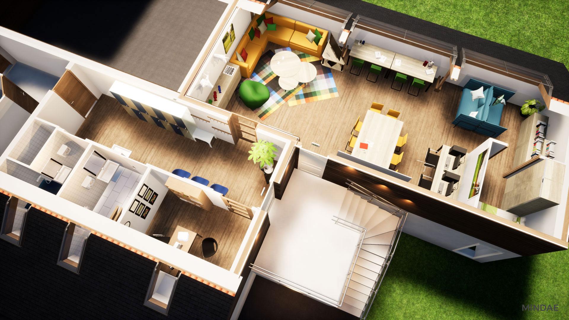 Mindae_3D_golf_caen_bluegreen_étage_projet_garderie-(1)