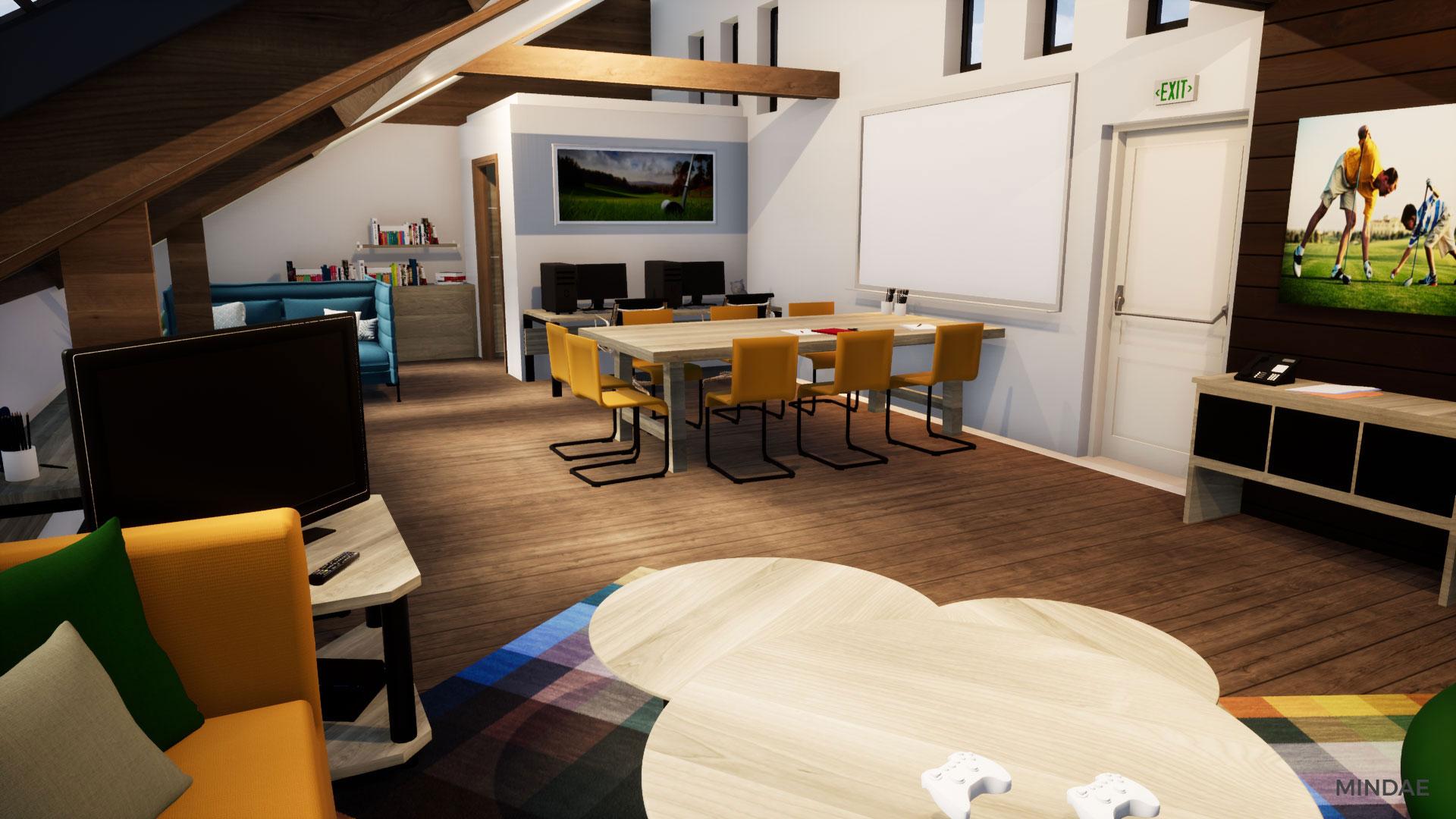 Mindae_3D_golf_caen_bluegreen_étage_projet_garderie-(5)