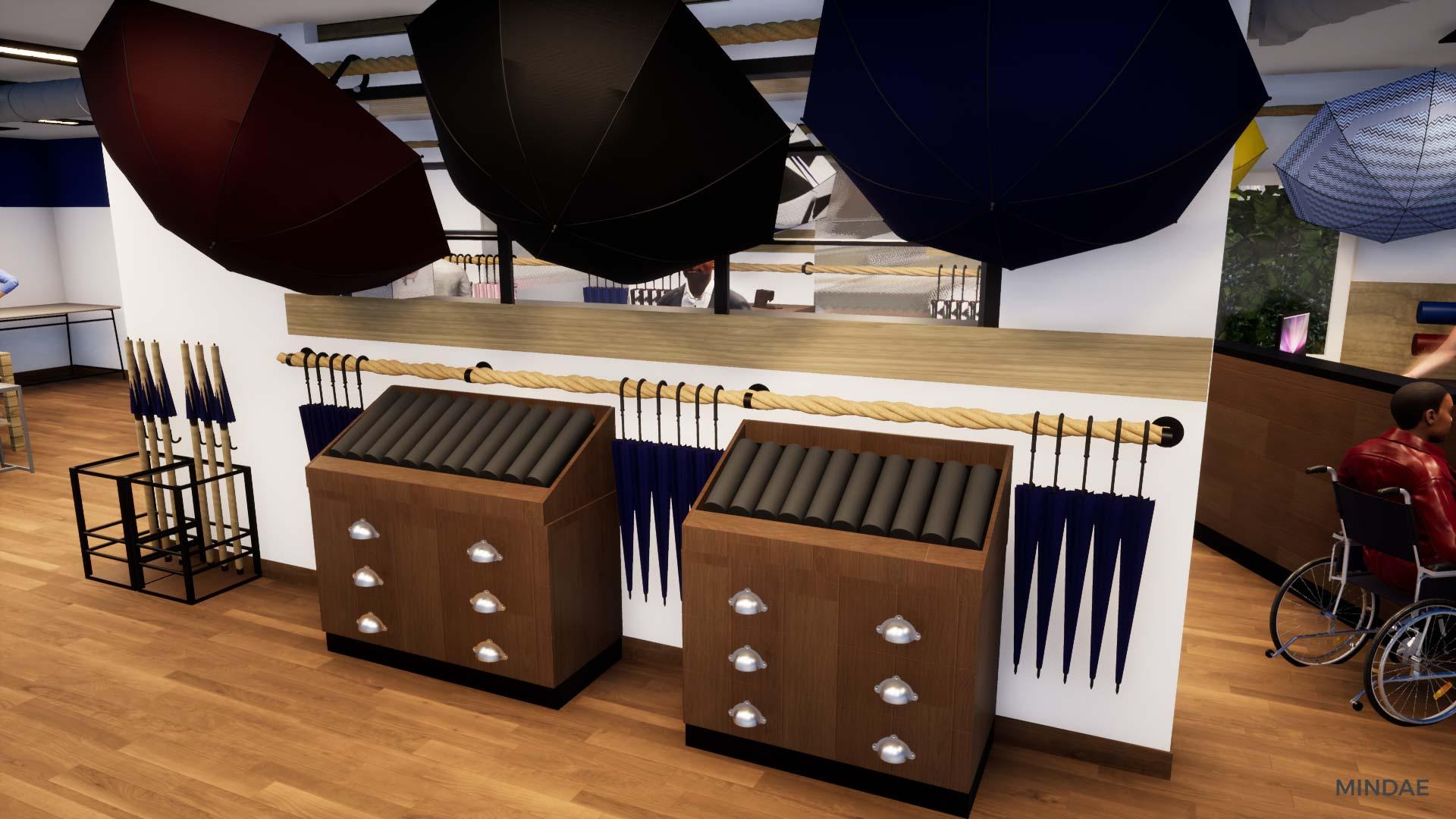 Mindae_3D_h2o_parapluies_crepon_creully_agencement_boutique_projet-(2)