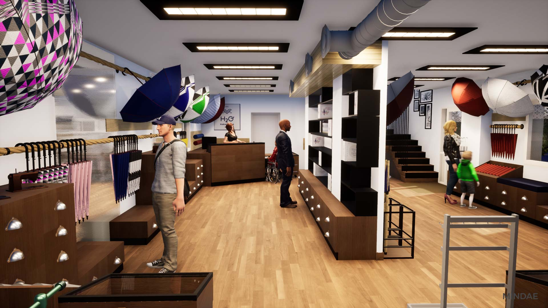 Mindae_3D_h2o_parapluies_crepon_creully_agencement_boutique_projet-(20)