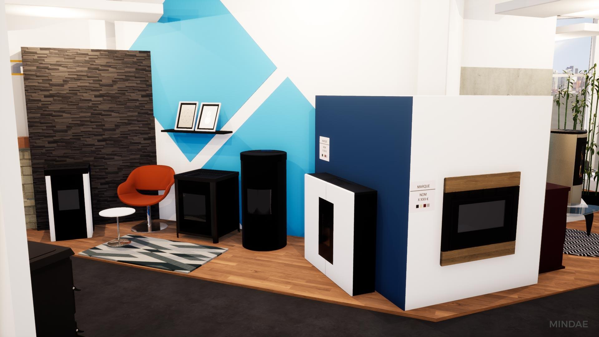 Mindae_3D_projet_agencement_poele_bois_cheminee_showroom_flamdesign_magasin_mondeville-(11)
