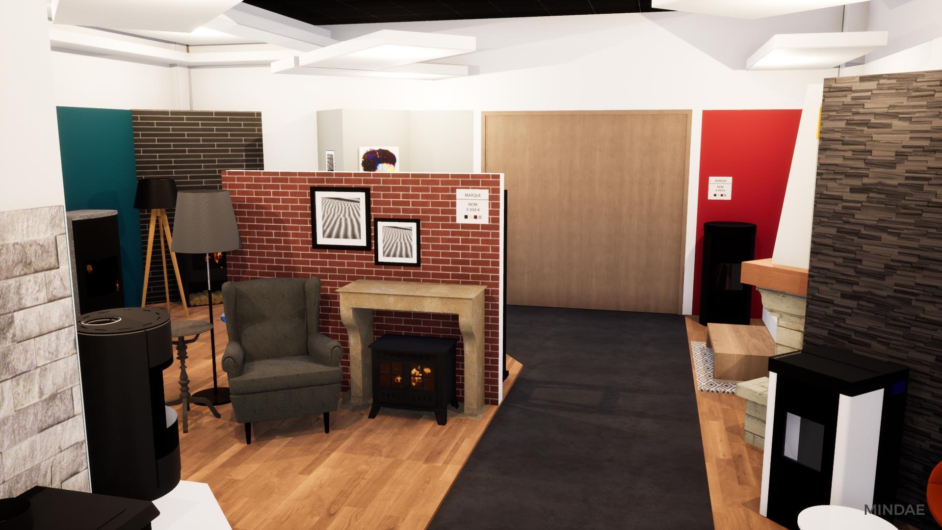 Mindae_3D_projet_agencement_poele_bois_cheminee_showroom_flamdesign_magasin_mondeville-(12)