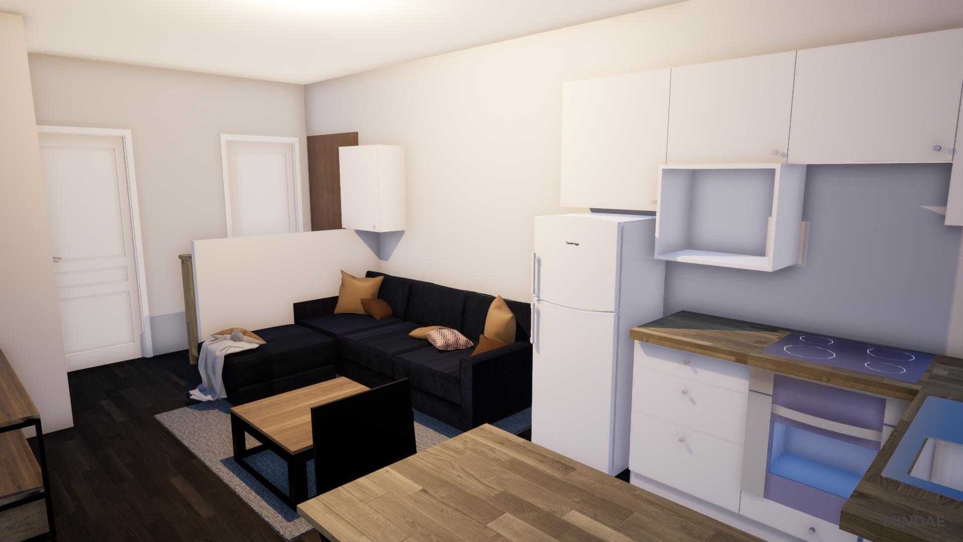 Mindae_3D_AS_Immobilier_salon_cuisine_etudiant_colocation_investisseur_amenagement_interieur_caen_projet_A-(4)