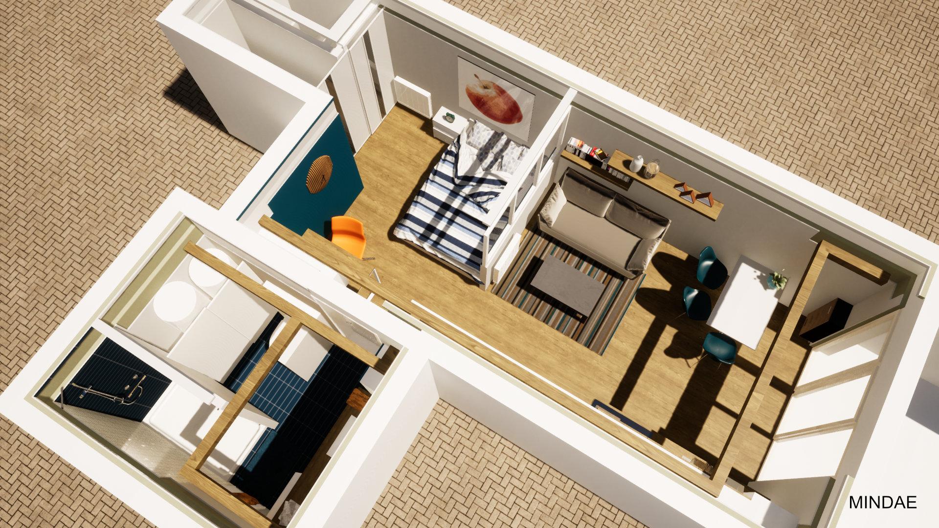 Mindae_Amenagement_appartement_studio_salon_chambre_sdb_etudiant (18)