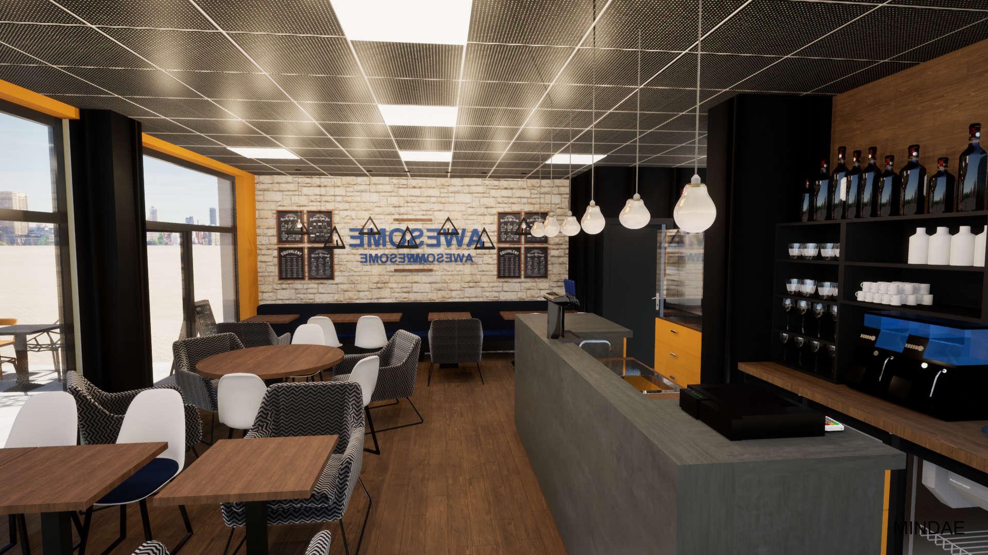 Mindae_Restaurant_Aménagement_3D_Comptoir Bar_Cuisine (5)