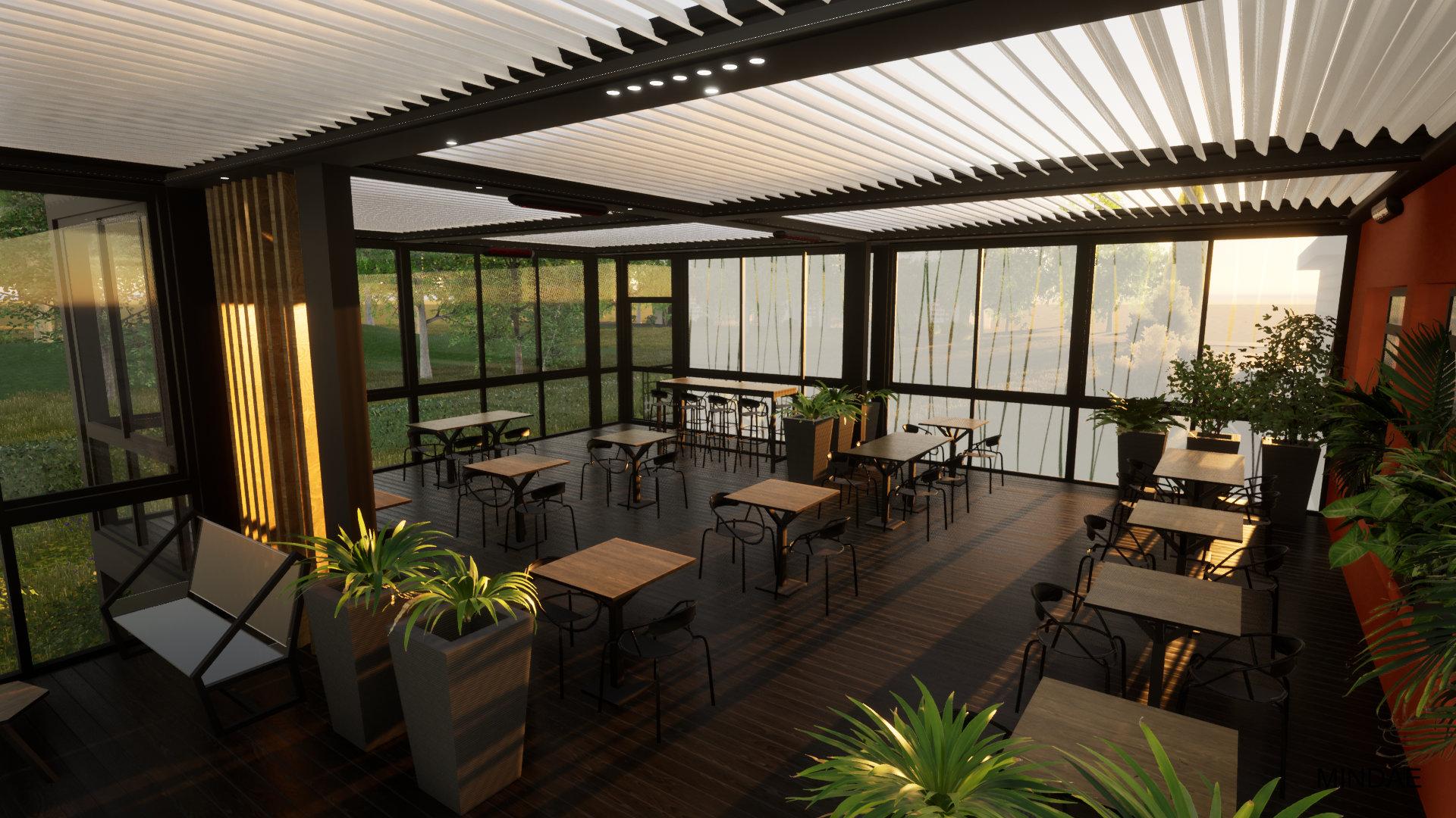 MINDAE_GPAL_Pergola_pilotis_terrasse_restaurant_carbone_orne_herouville_chef (3)